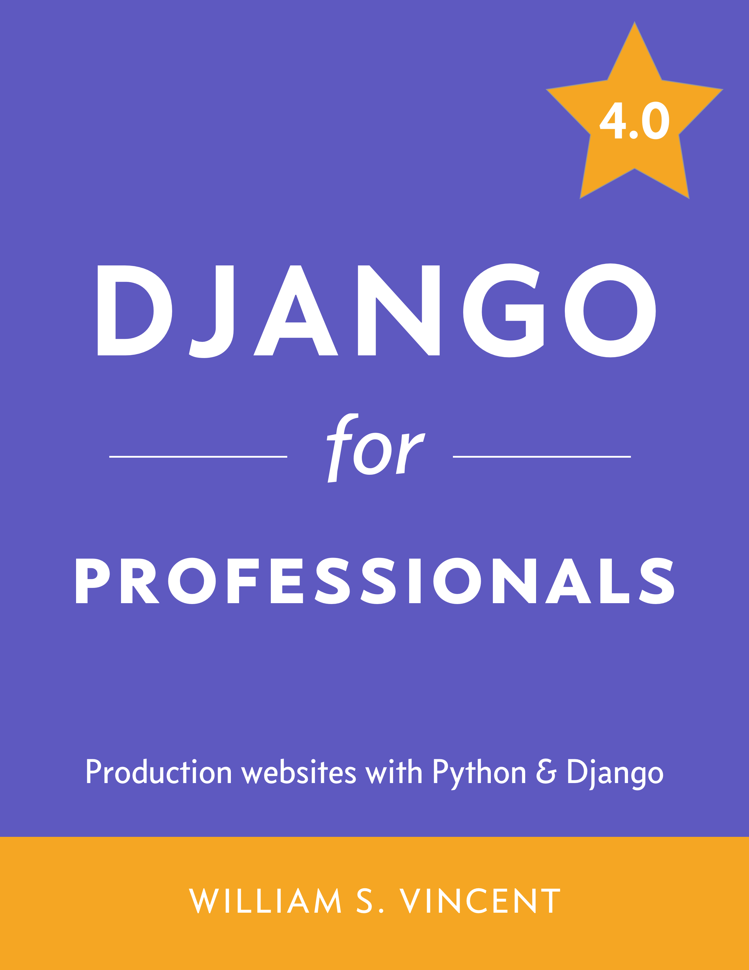 Django for APIs book cover